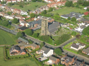 Christ Church from the air