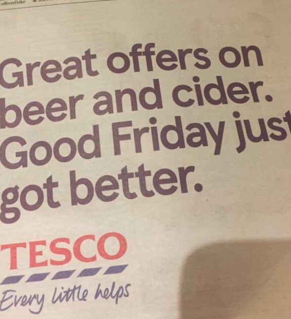 tesco advert