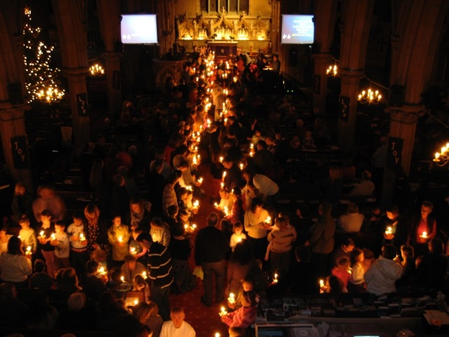 Christingle at Christ Church