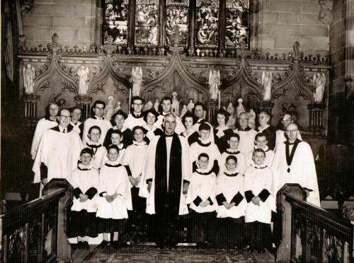 Christ Church Choir 1959
